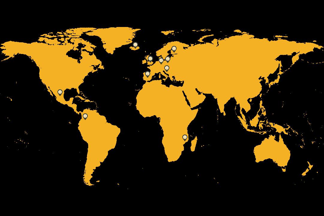Presencia de LUCA en el mundo